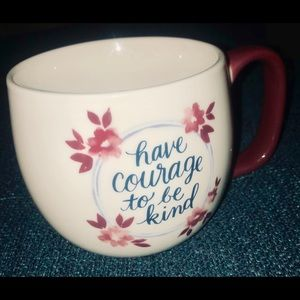 "Threshold oversized ""have courage to be kind"" mug"
